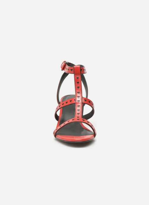 Sandals What For Pandora Red model view